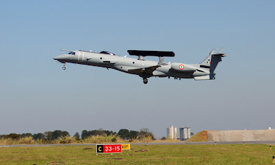 The Airborne Early Warning and Control (AEW&C) platform, Indias recently-acquired eye-in-the-sky aircraft, had its first flight loaded with desi mission systems on September 29