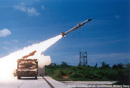 The Akash missile can fly at a speed of up to Mach 2.5.