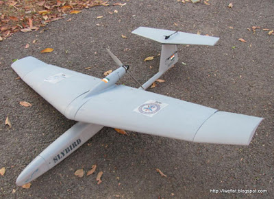 The National Aeronautics Lab (NAL) Slybird drone, first revealed earlier this year  is shortly to begin a second phase of trial flights with a videocamera/IR payload.